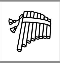 Concept of harmonic flute vector
