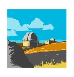 Mt john observatory lake tekapo wpa vector