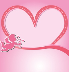 Valentine the festival of love vector image
