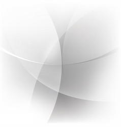 abstract white and silver background vector image