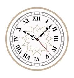 Clock watch alarms icons vector image vector image