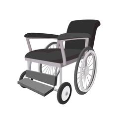Wheelchair cartoon icon vector image