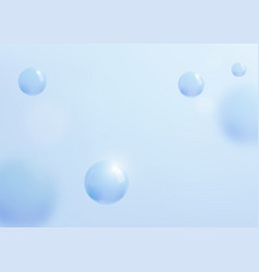 Abstract blue background with liquid fluid vector