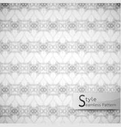 Abstract seamless pattern ribbon rope lattice vector