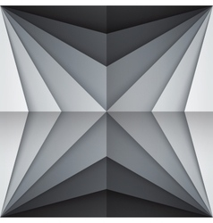 Black and gray rectangle shapes abstract vector