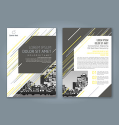 Cover annual report 938 vector