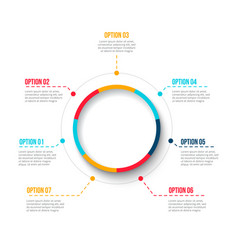 Cycle business graphic element business process vector