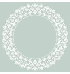 Damask Pattern Orient Light Ornament vector