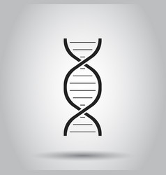 dna icon on isolated background business concept vector image