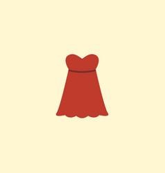 flat icon sundress element of vector image