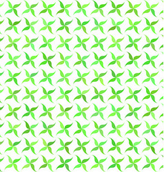 Green abstract leaf pattern background design vector