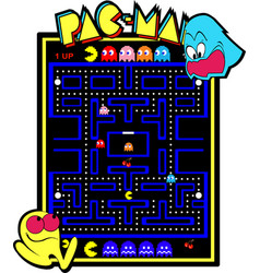 Old school arcade vector