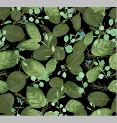 pattern of floral background for print fabrics vector image