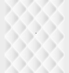 Soft seamless rattern with waves in white eps 10 vector