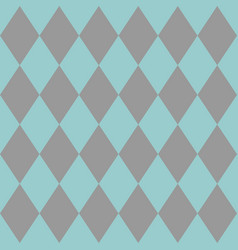 Tile mint green and grey pattern or background vector