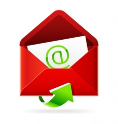 inbox mails icon vector image