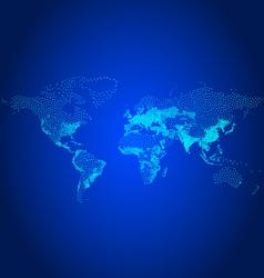 population world map vector image