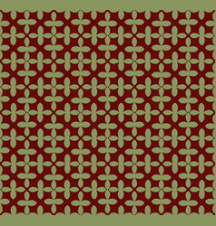 abstract ornament seamless pattern background vector image