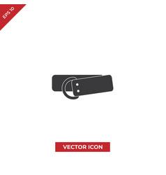 belt gear icon vector image