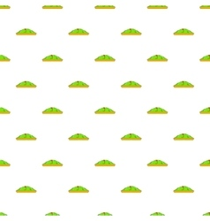 Golf course pattern cartoon style vector