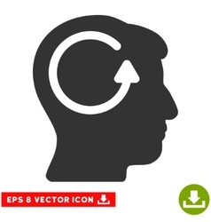 Refresh Head Memory Eps Icon vector