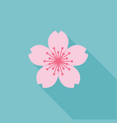 Sakura icon vector