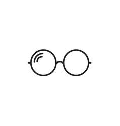 sunglasse icon eyewear flat vector image