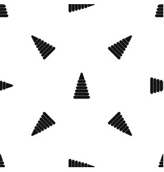 pyramid built from plastic rings pattern seamless vector image