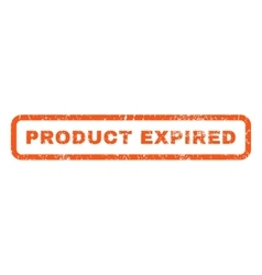 Product Expired Rubber Stamp vector image vector image