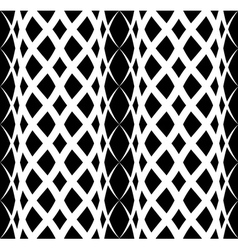 Arabic seamless pattern with wave 5 vector image
