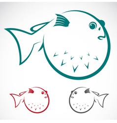 Puffer vector image vector image
