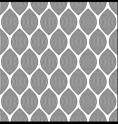 almond like stripes lines seamlessly repeatable vector image