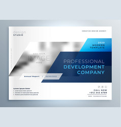 Creative business flyer cover page design vector