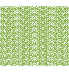 Greenery zigzag seamless pattern background vector