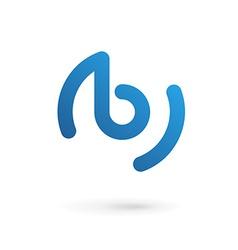 Letter B logo icon design template elements vector image