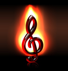 Passion for music vector