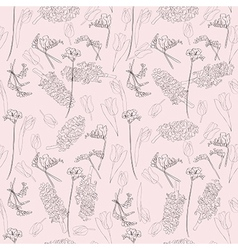 spring linear pattern vector image