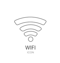 Wireless sign icon vector