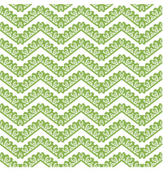 greenery chevron seamless pattern background vector image vector image