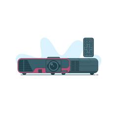 multimedia projector icon on vector image vector image