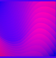 abstract blue and pink gradient color striped vector image