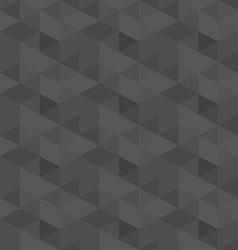 Dark grey geometric seamless pattern background vector