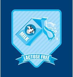 Milk product vector