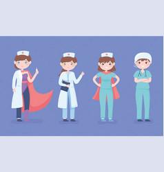Nurses day celebration vector