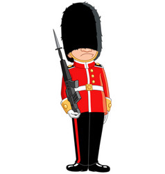 queens guard vector image