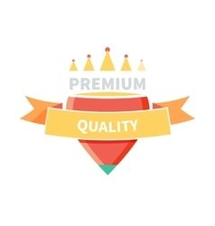 Sale badge premium quality design vector