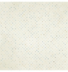 vintage polka dots background vector image