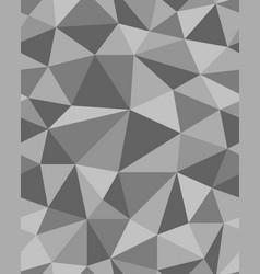 polygonal mosaic templates vector image vector image