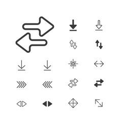 Arrow-icon-expand-2-1artboardarrow icon isolated vector