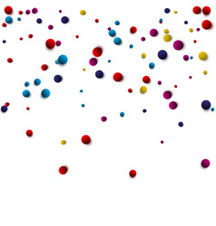 Bright spot watercolor dot endless pattern ideal vector